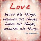 Bible Quotes About Love