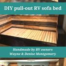 DIY Sofa Inspiration for Your RV | RV Inspiration