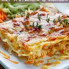 Gemüselasagne mit Spitzkohl und Möhren