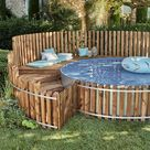 Fabriquer un entourage de piscine en bois | Leroy Merlin