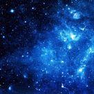 Blue Galaxy wallpaper in 2048x1152 resolution