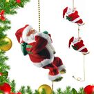 (🎄CHRISTMAS HOT SALE NOW-50% OFF)Santa Claus Musical Climbing Rope - BUY 2 (SAVE$5)