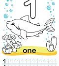 Coloring printable worksheet for kindergarten and preschool.
