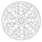 30 kostenlose Vorlagen für Mandala zu Weihnachten mit beliebten Motiven