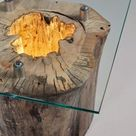 How to Make a Spectacular Stump Floor Lamp - iD Lights