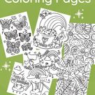 Get spring coloring pages!