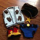 Crochet Cowboy Boots