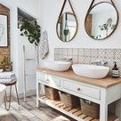 This bathroom sanctuary is a grown-up space to relax in