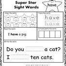Printable Worksheet for Kindergarten – Grade 1 - Edukidsday.com