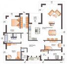 Der Bungalow One 173 mit 173 m² Wohnfläche für reichlich Wohngenuss.