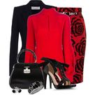 Red Blouses