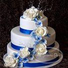 Rose Wedding Cakes