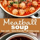 Quick & Easy Meatball Soup