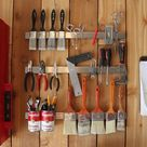 Storage Shed Organization