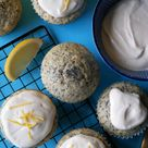 Zitronen-Mohn Muffins – Vegane Küche