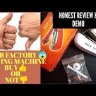 Honest Review and Demo of Mini Handheld Sewing Machine in Tamil | Club factory Online shopping