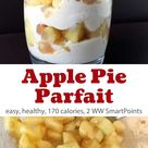 Light & Healthy Apple Pie Yogurt Parfait | Simple Nourished Living