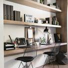30+ Fresh Study Room Design Ideas #study #room #Organization #Modern #Design