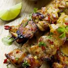 Key West Grilled Chicken | Honey Lime Chicken Skewers