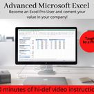 Advanced Excel Training Excel Video Training Advance Excel   Etsy