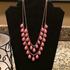 Coral Statement Necklaces