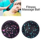 EVA Ball Yoga Fitness Roller Muscle Fascia Relax Body Foot Leg Neck Massager -  black