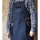 Men's Canvas Leather Apron Work Apron Canvas Leather   Etsy