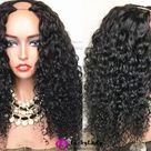 U part hair wig Human Hair wigs U-Part wig loose wave women wigs for Ameircan women Upart wigs free shipping