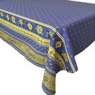French Country Blue and Yellow Bastide Tablecloth