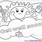 Get Well Soon Coloring Pages Gallery