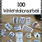 Winter   Stationen im Zahlenraum 100