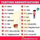 Texting Abbreviations: List of Interesting Texting Abbreviations in English - My English Tutors