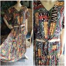 CLEARANCE 90s Bohemian Tie Top & Skirt Set By Options Melrose   Etsy