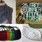 Beginner Knitting Patterns
