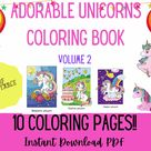 Magical Unicorn Coloring Pages for Kids