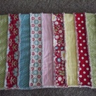 Strip Rag Quilts
