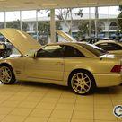 2002 Mercedes Benz SL7.3 Convertible R129 Brabus Autosport Silver Arrow Edition