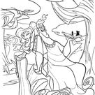 Hercules coloring pages. Free printable Disney coloring sheets for kids.