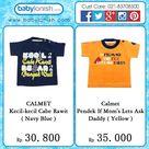 Calmet kaus kreatif  Baby boy clothes t shirt  Kaos bayi baju bayi