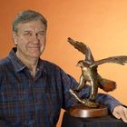 Bronze Wildlife Sculpture by Shawn McAvoy Pinterest Account