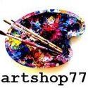 Artshop77® art & painting, fashion, interior, home decor & more instagram Account