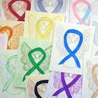 Awareness Ribbon Art Gallery Pinterest Account