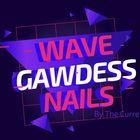 Wave Gawdess Nails Pinterest Account