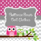 Buttons and Bows Doll Clothes Pinterest Account