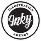 Inky Illustration Agency Pinterest Account