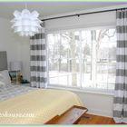 gray bedroom drapes Pinterest Account