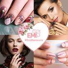 EMi school of nail design in UAE Pinterest Account