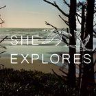 She Explores Pinterest Account