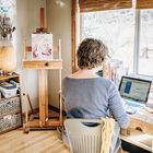 The Artist Market Co   Sell Art From Your Website Pinterest Account