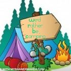 We'd Rather Be Camping Pinterest Account